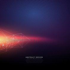 5a6007bc36d Fondo tecnológico abstracto con efecto de luz Vector Gratis Imagenes  Abstractas, Vectores Gratis, Transparente