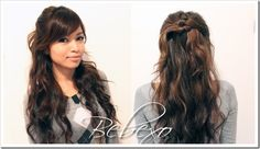 Holiday Half Up Half Down Knotted Hairstyle | Bebexo Official Website Hairstyles and Makeup Reviews