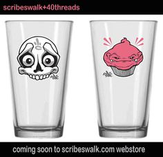 Scribe Pint Glasses!