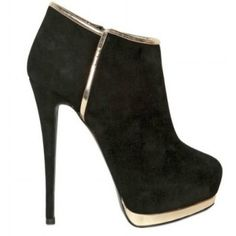 GIUSEPPE ZANOTTI 140MM SUEDE METAL LOW BOOTS