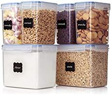 Ultimate Guide to Turning Your Home into an Eco-Friendly Oasis   Swift Large Food Storage Containers, Cereal Containers, Dry Food Storage, Plastic Container Storage, Kitchen Pantry Storage, Pantry Organization, Tiny Pantry, Kitchen Store, Smart Kitchen
