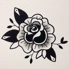You can find Tattoo drawings and more on our website. Tattoos Motive, Tattoos Mandala, Flower Tattoos, Body Art Tattoos, Leg Tattoos, Finger Tattoo Designs, Old School Tattoo Designs, Tattoo Old School, Traditional Tattoo Flowers