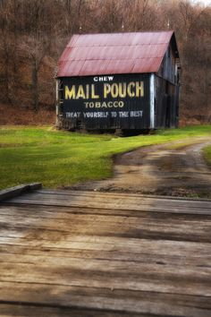 Was a familiar site around WV, whether it was by interstate or backroads in the 70's and 80's.