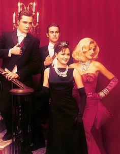 Gossip Girl cast, back in time.
