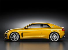 Audi Sport Quattro Concept : 700HP hybrid powertrain blending a twin-turbo 8 & an electric motor, pushes this Quattro to 189mph !!!