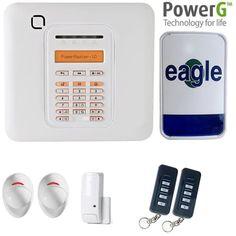 Alarm servicing designed for Visonic Powermaster wireless home