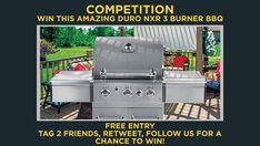 3 Burner Gas Grill, Competition Time, Gas Bbq, Enjoying The Sun, Grilling, Amazing, June, Friday, Twitter
