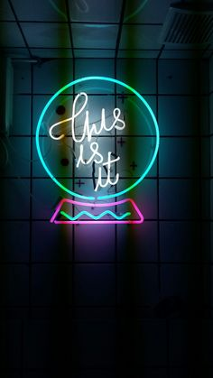 1061 Best Neon images in 2019 | Neon lighting, Stall signs, Lights