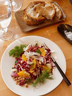 Farro and Orange Salad Recipe - Romantic Dinner Recipes from Celebrity Chef Marcus Samuelsson