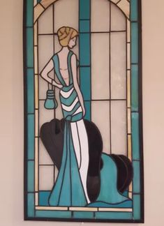 Stained Glass by Rosemary Doran - Arts & Crafts Ideas Rapid Resizer, Stencil Painting, Pencil Drawings, Stained Glass, Glass Art, Stencils, Aurora Sleeping Beauty, Arts And Crafts, Disney Characters