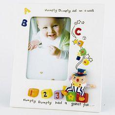 I'm shopping Ivory 'Nursery' Humpty Dumpty photo frame in the Debenhams Ireland iPhone app.