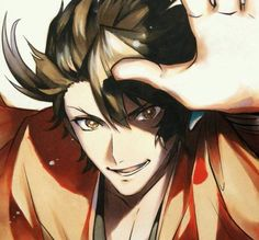 Mutsunokami Yoshiyuki, Fiction, Wattpad, Anime Guys, Anime Male, Touken Ranbu, Katana, Concept Art, Fangirl