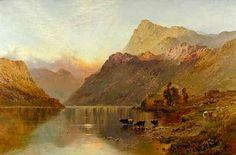 Alfred de Breanski - At Sunset
