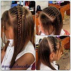 Cute Girls Hairstyles, Headband Hairstyles, Hairstyles Haircuts, Braided Hairstyles, Hip Hair, Curly Hair Styles, Natural Hair Styles, Girls Braids, Toddler Hair