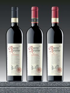 creative, design, Examples, Inspiration, label, packaging, professional,Rousse Winery