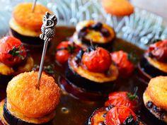 追いがつおつゆ×バルサミコソースで 秋野菜とチーズのピンチョス パーティー クリスマス ハロウィン