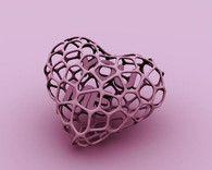 Voro-heart by Cignoni  3D Printed  Shapeways - Svpply