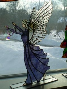 Crystal angel - Stained Glass