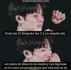 It was 12 am,then 2 am and I was still there.with hundreds of ideas in my mind and tears on my face asking myself what was wrong in me. Oppa Ya, Frases Bts, Suicide Quotes, Quotes En Espanol, Quotes About Everything, Bts Quotes, Sad Life, Im Sad, Fake Love