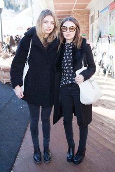 Hannah Murray and Emily Browning [Photo by Katie Jones]