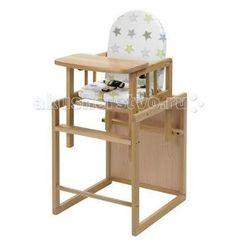 Geuther Nico трансформер  — 8260р. -----------------------------  Стульчик для кормления Geuther Nico трансформер  Nico может использоваться в качестве полноценного высокого стульчика, а также отдельно или в комбинации со столом. Высокая спинка обеспечивает комфорт для малыша, а столик для игры дает возможность занять ребенка.  Особенности: выполнен из массива бука окрашен нетоксичными красками на водной основе стульчик для кормления можно использовать для детей с 6 месяцев и до 3-4 лет…