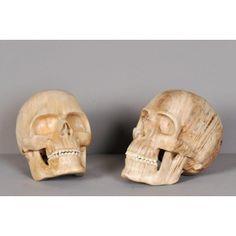 Crâne en Bois - Ateliers C.S.D.