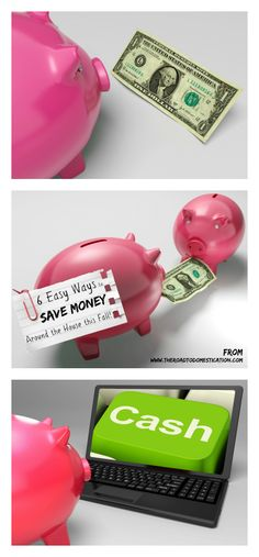 Looking to save some money around the house this Fall? Here are some ideas!