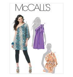 McCall's pattern - Tunics and Sash