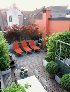 New Rooftop Decorating Ideas