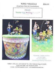 Easter Egg Bunny Bucket