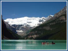 Lake Louise Canoe - Lake Louise, Alberta