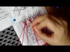 Punto Eslavo - YouTube Bobbin Lacemaking, Lace Heart, Lace Jewelry, Macrame Knots, Lace Embroidery, Lace Making, Lace Detail, Crochet, Smocking