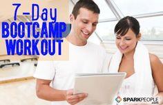 7-Day Bootcamp Workout Plan