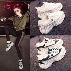 스포츠 신발 여성 한국어 버전 ulzzang 하라주쿠 야생 흰색 2018 새로운 흰색 구두 신발 슈퍼 화재 Eyewear, Adidas, Shoe Bag, Sneakers, Bags, Shoes, Women, Fashion, Tennis