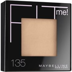 Maybelline New York Fit Me! Powder, 135 Creamy Natural.