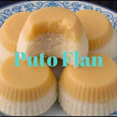 Flan Two loved Filipino dessert in one! Puto Flan is a combo of Leche Flan and Puto! Get the recipe now! Filipino Bread Recipe, Easy Filipino Recipes, Filipino Dishes, Filipino Desserts, Filipino Food, Putoflan Recipe, Cuban Recipes, Vegetarian Recipes, Gastronomia