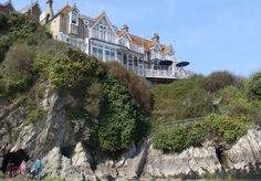 Two nights or more in a Cornish clifftop period house with stunning sea views, with breakfast
