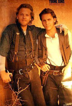 Doc Scurlock (Kiefer Sutherland) and Billy the Kid (Emilio Estevez), Young Guns Kiefer Sutherland, Donald Sutherland, Emilio Estevez, Good Movies To Watch, Great Movies, Best Movies List, Movie To Watch List, Top Movies, True Stories