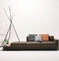 Modular fabric #sofa YUUTO by Walter Knoll | #design EOOS