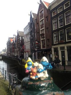 I puffi ad Amsterdam Marzo 2015