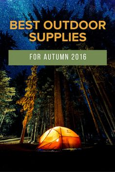 Whether it's backpacking, camping, day-hiking, fishing, kayaking or just enjoying a picnic beside one of the area's myriad lakes and waterfalls, Autumn is arguably one of the best time to explore the outdoors. Check out some of our favorite outdoor supplies of the season.