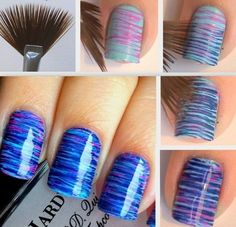 6 Easy to do Nail Art Tutorials that Actually Look Difficult ! With the step by step guide, these nail art designs are so easy to do, that even beginners can do them in a way, they would look professionally done.   http://www.feminiya.com/6-easy-to-do-nail-art-tutorials-that-actually-look-difficult/