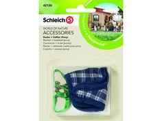 SCHLEICH - 42120 - Couverture + licole (poney)