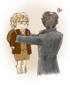 there are those moments (it seems to me) that Sherlock keeps John in a similar fashion to how I keep my cat.