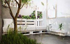 Arredare un giardino con materiale di recupero - Mobili per il giardino
