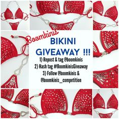 Happy Memorial Weekend my loves!!!   THIS BIKINI FREE!  Follow ALL steps to qualify! Here's how: ________________________________________________________ 1) Repost this flier & TAG @boomkinis 2) In your caption use hashtag #boomkinisgiveaway  3) FOLLOW both @boomkinis & @boomkinis_competition .  Multiple entries accepted.  You can also submit for a friend. ________________________________________________________  will be announced a week from Monday ! That gives you 9 days to circulate the…