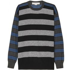 CONTRAST STRIPED PULLOVER seen @ www.mytheresa.com