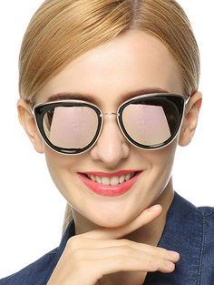 Butterfly Mirrored Sunglasses #jewelry, #women, #men, #hats, #watches