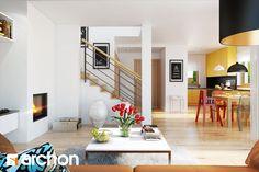 Dom pod liczi 3 - zdjęcie od ARCHONhome - Salon - Styl Nowoczesny - ARCHONhome