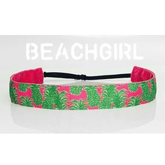 Pineapple Perfection: Love this Lilly inspired headband from BeachGirl Bands!
